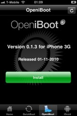 260 160x2401 Cydia   Bootlace passe en version 2.1.4 : Installez Android sur iPhone