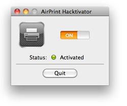274 News   AirPrint Hacktivator : Activer AirPrint sur votre MAC