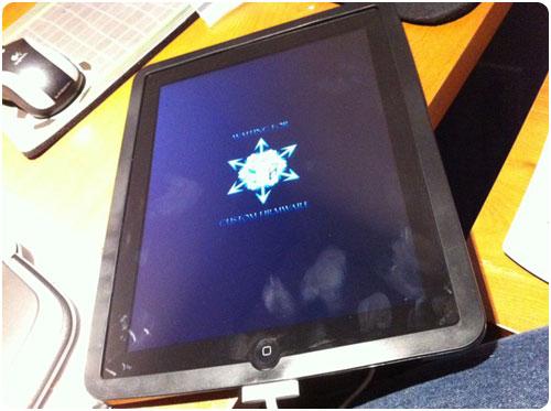 311 Jailbreak News   iH8sn0w a publié une photo dun iPad Jailbreak