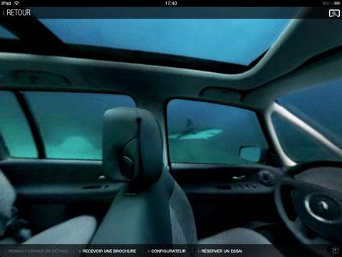 323 AppStore   Renault Espace pour iPad vous fait voyager en 360°