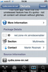 333 Cydia   AirVideoEnabler : Activez AirPlay Video Streaming pour toutes les applications