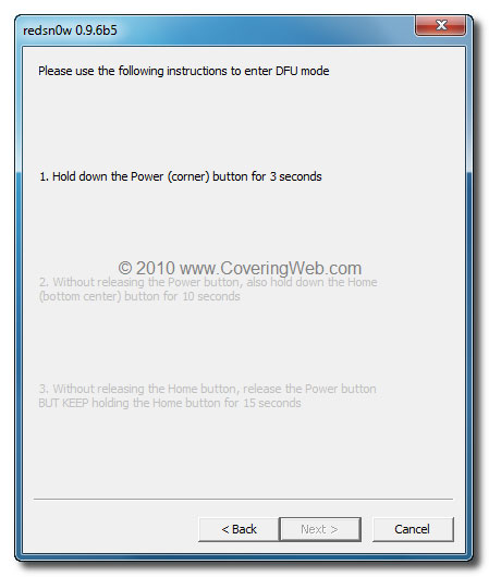 336 Tutoriel   UltraSn0w : désimlockage baseband iOS 4.1 / 4.2.1 [WINDOWS]