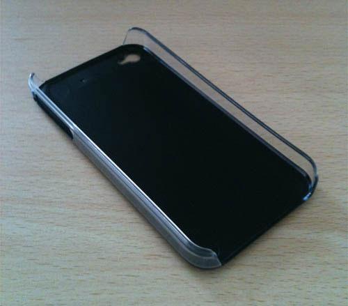 55 iPhBoutique – Coque iPhone 4 Noir avec logo Apple