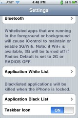 6 160x240 Cydia   iControl : Contrôlez la connectivité de votre iPhone
