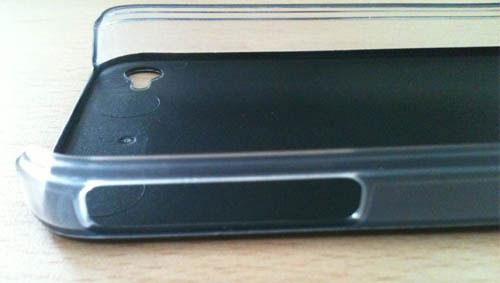 63 iPhBoutique – Coque iPhone 4 Noir avec logo Apple