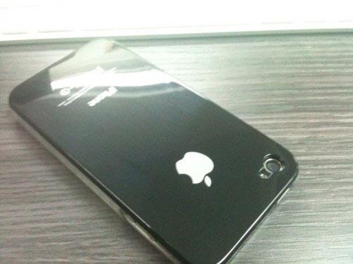 83 iPhBoutique – Coque iPhone 4 Noir avec logo Apple