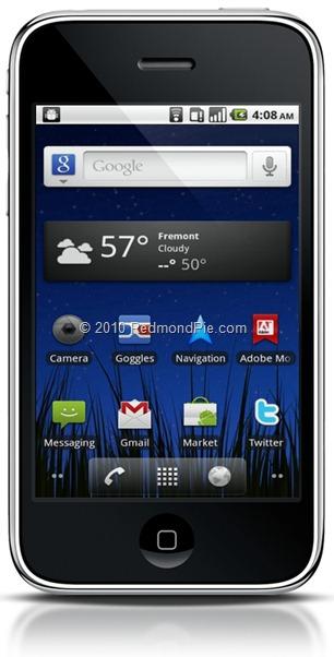 Android 2.2 on iPhone Tutoriel   Installer Android sur iPhone 2G / 3G sans ordinateur