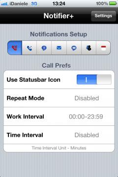 IMG 05122 240x360 Cydia   Notifier + : Afficher des notifications sur la statut bar
