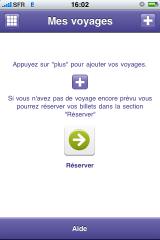 IMG 0998 160x240 AppStore   iDTGV : Commander des e billets via liPhone