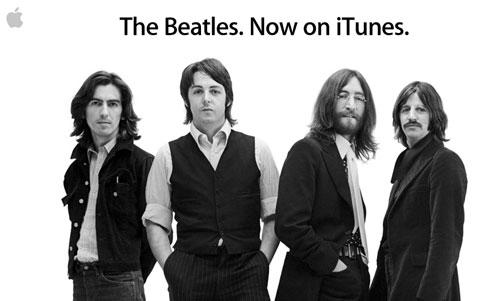 beatles News   Les beatles arrivent sur iTunes