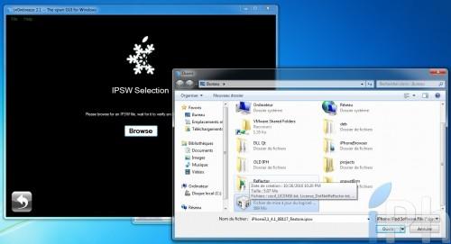 browse 500x271 Tutoriel   Jailbreak de tous les appareils avec Sn0wBreeze 2.1