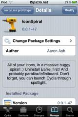 1105 160x240 Cydia   IconSpiral : Affichez les icônes sur votre SpringBoard dune nouvelle façon [Vidéo]