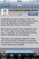 1111 160x240 News   Les 12 jours cadeaux iTunes dès le 26 Décembre