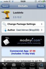 114 Cydia   LockInfo passe en version 2.3.10 2