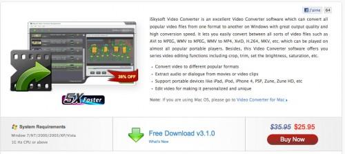 1167 500x223 iPhConcours   Gagnez 25 licences de Video Converter pour Windows