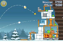 117 AppStore   Angry Birds passe en version Noël : compatible avec la neige