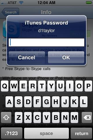 1185 Cydia   NoAppStorePass : Quand lAppStore ne vous demande plus votre mot de passe