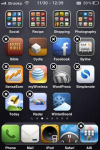 12 Cydia   NoWiggle : Suprimer leffet de vibration des icônes de la SpringBoard