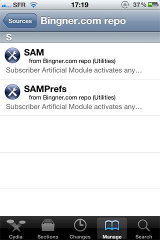 128 Tutoriel – SAM : Hacktiver votre iPhone 3G[S] et régler le problème de batterie de liOS 4.2.1 [RedSn0w]