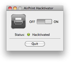 134 News   Apple demande au développeur de AirPrint hactivator de supprimer son logiciel
