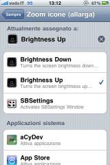 137 Cydia   Brightness Activator Action mis à jour : Contrôler la luminosité avec Activator