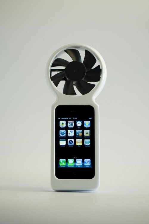 143 500x751 Insolite   Une éolienne pour recharger votre iPhone