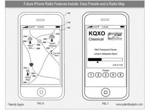 144 500x366 News   Apple : Un nouveau brevet pour écouter la radio