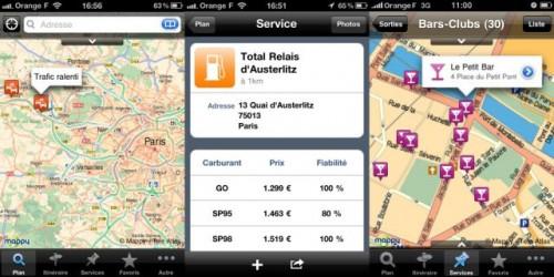 165 500x250 AppStore   Mappy passe en version 2.2