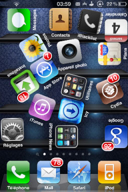 173 Source iPhone3GSystem   De nombreuses mises à jour ont été faites