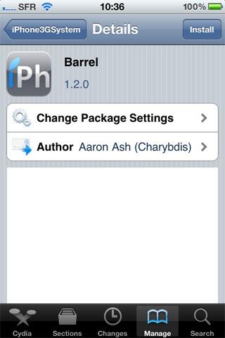 192 Cydia   Barrel passe en version 1.2.0 [CRACK]