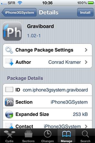 193 Cydia   Graviboard passe en version 1.04 1