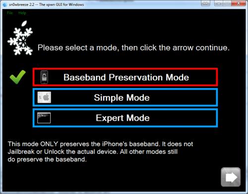 215160378 500x392 Jailbreak News   La prochaine version de Sn0wBreeze pourra préserver le baseband