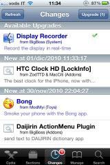 22 Cydia   DisplayRecorder passe en version 1.1.3