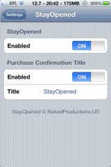 228 Cydia   StayOpened : Laissez lAppStore ouvert pendant un téléchargement