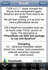 24 160x230 Cydia   BytaFont : Il prend la relève de FontSwap