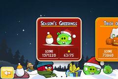 26 AppStore   Angry Birds passe en version Noël : compatible avec la neige