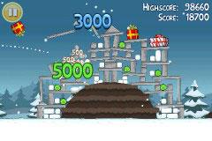 27 AppStore   Angry Birds passe en version Noël : compatible avec la neige