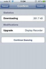 3 Cydia   DisplayRecorder passe en version 1.1.3