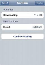 32 160x229 Cydia   BytaFont : Il prend la relève de FontSwap
