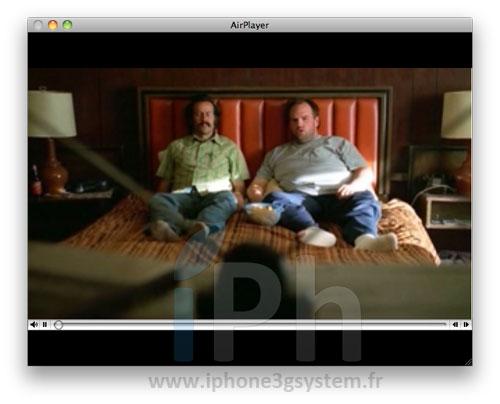 45 Tutoriel   AirPlayer : Lire des vidéos sur votre MAC en utilisant AirPlay depuis votre appareil sous iOS 4.2.1