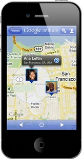 appli google latitude iphone AppStore   Google Latitude disponible