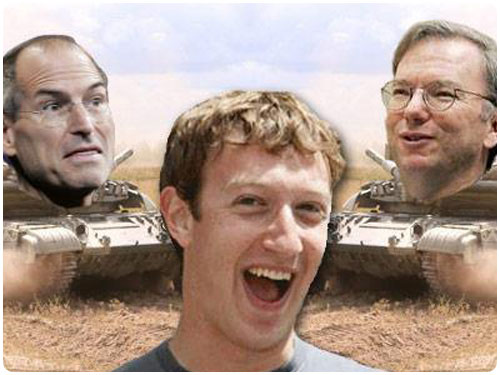 facebook apple Rumeur   Apple rachètera facebook en 2011 ?