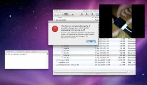 119 500x290 News   Le mode DFU découvert aussi sur iPod Nano 6G