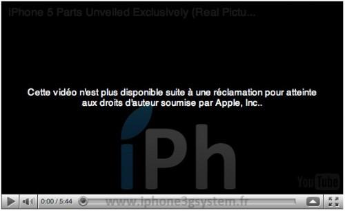 122 500x305 News   Apple retire de YouTube une vidéo de liPhone 4 verizon ou de liPhone 5