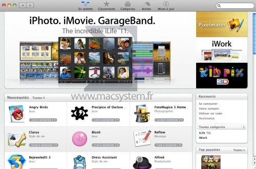 124 500x331 News   Le Mac AppStore a ouvert ses portes !
