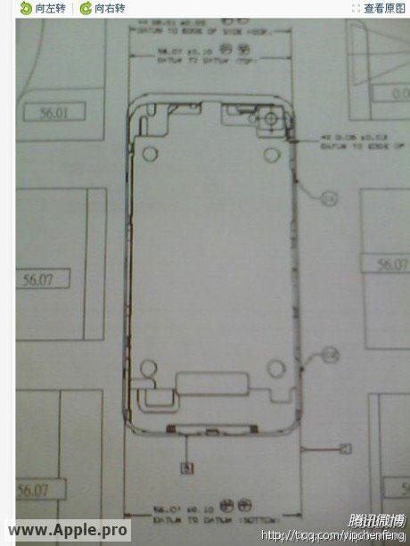130 News   Des dessins de liPhone 5 ?