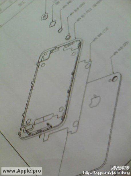 131 News   Des dessins de liPhone 5 ?