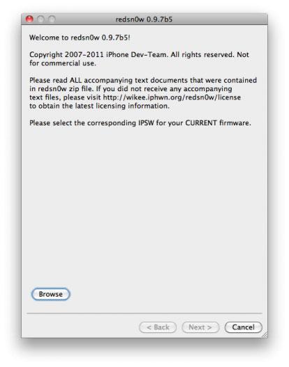 136 Jailbreak News   Redsn0w 0.9.7b5 est disponible