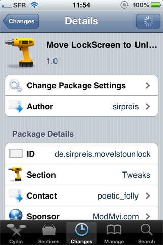 19 Cydia   Move LockScreen to Unlock : Une nouvelle façon de déverrouiller votre appareil