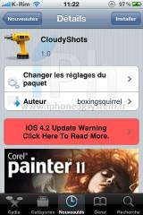 190 160x240 Cydia   CloudyShots : Uploader vos screenshots sur CloudApp [VIDEO]